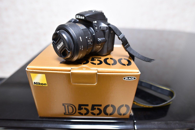 Nikon D5500 AF-S DX NIKKOR 35mm f/1.8G